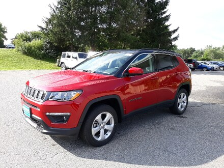 Featured New 2019 Jeep Compass LATITUDE 4X4 Sport Utility for sale in Rutland, VT at Brileya's Chrysler Jeep