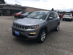 New 2019 Jeep Compass LATITUDE 4X4 Sport Utility 3C4NJDBBXKT600006 for sale in Rutland, VT at Brileya's Chrysler Jeep