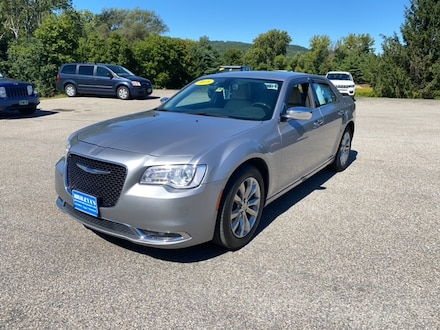 Featured Pre-Owned 2018 Chrysler 300 Limited Sedan for sale in Rutland, VT at Brileya's Chrysler Jeep