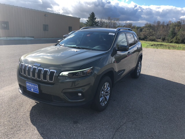 Featured New 2019 Jeep Cherokee LATITUDE PLUS 4X4 Sport Utility for sale in Rutland, VT at Brileya's Chrysler Jeep