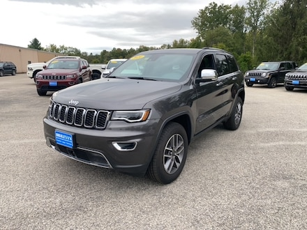 Featured New 2020 Jeep Grand Cherokee LIMITED 4X4 Sport Utility for sale in Rutland, VT at Brileya's Chrysler Jeep
