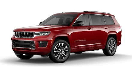 Featured New 2021 Jeep Grand Cherokee L OVERLAND 4X4 Sport Utility for sale in Rutland, VT at Brileya's Chrysler Jeep
