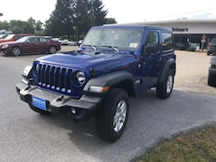 New 2018 Jeep Wrangler SPORT S 4X4 Sport Utility 1C4GJXAN9JW191947 for sale in Rutland, VT at Brileya's Chrysler Jeep