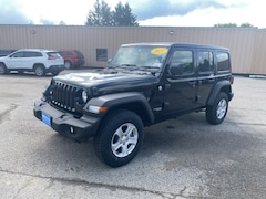 2021 Jeep Wrangler UNLIMITED RHD Sport Utility for Sale in Rutland, VT at Brileya's Chrysler Jeep