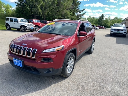 Featured Pre-Owned 2017 Jeep Cherokee Latitude SUV for sale in Rutland, VT at Brileya's Chrysler Jeep