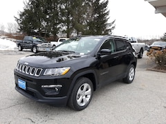New 2020 Jeep Compass LATITUDE 4X4 Sport Utility 3C4NJDBB6LT168662 for sale in Rutland, VT at Brileya's Chrysler Jeep