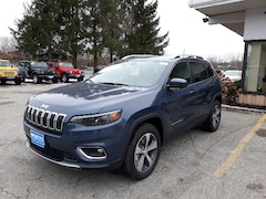 New 2020 Jeep Cherokee LIMITED 4X4 Sport Utility 1C4PJMDXXLD548286 for sale in Rutland, VT at Brileya's Chrysler Jeep