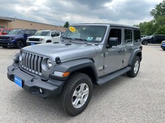 New 2020 Jeep Wrangler UNLIMITED SPORT S 4X4 Sport Utility for sale in Rutland, VT at Brileya's Chrysler Jeep