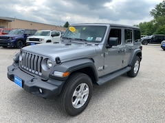 2020 Jeep Wrangler UNLIMITED SPORT S 4X4 Sport Utility for Sale in Rutland, VT at Brileya's Chrysler Jeep