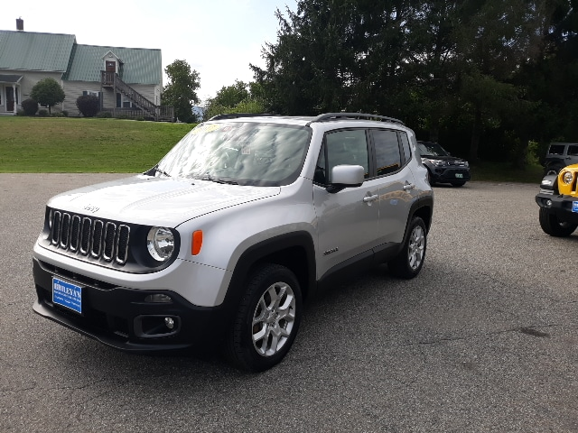 Featured Pre-Owned 2017 Jeep Renegade Latitude SUV for sale in Rutland, VT at Brileya's Chrysler Jeep