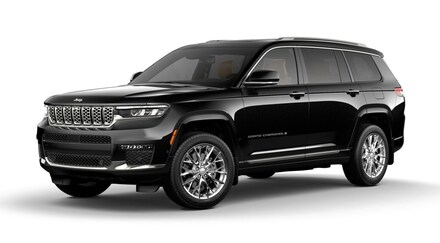 Featured New 2021 Jeep Grand Cherokee L SUMMIT 4X4 Sport Utility for sale in Rutland, VT at Brileya's Chrysler Jeep