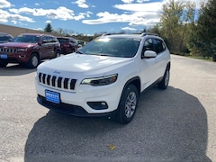 2021 Jeep Cherokee LATITUDE LUX 4X4 Sport Utility for Sale in Rutland, VT at Brileya's Chrysler Jeep