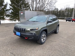 2021 Jeep Cherokee TRAILHAWK 4X4 Sport Utility for Sale in Rutland, VT at Brileya's Chrysler Jeep