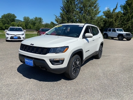 Featured New 2020 Jeep Compass NORTH EDITION 4X4 Sport Utility for sale in Rutland, VT at Brileya's Chrysler Jeep