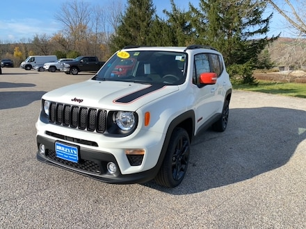 Featured New 2020 Jeep Renegade ORANGE EDITION 4X4 Sport Utility for sale in Rutland, VT at Brileya's Chrysler Jeep