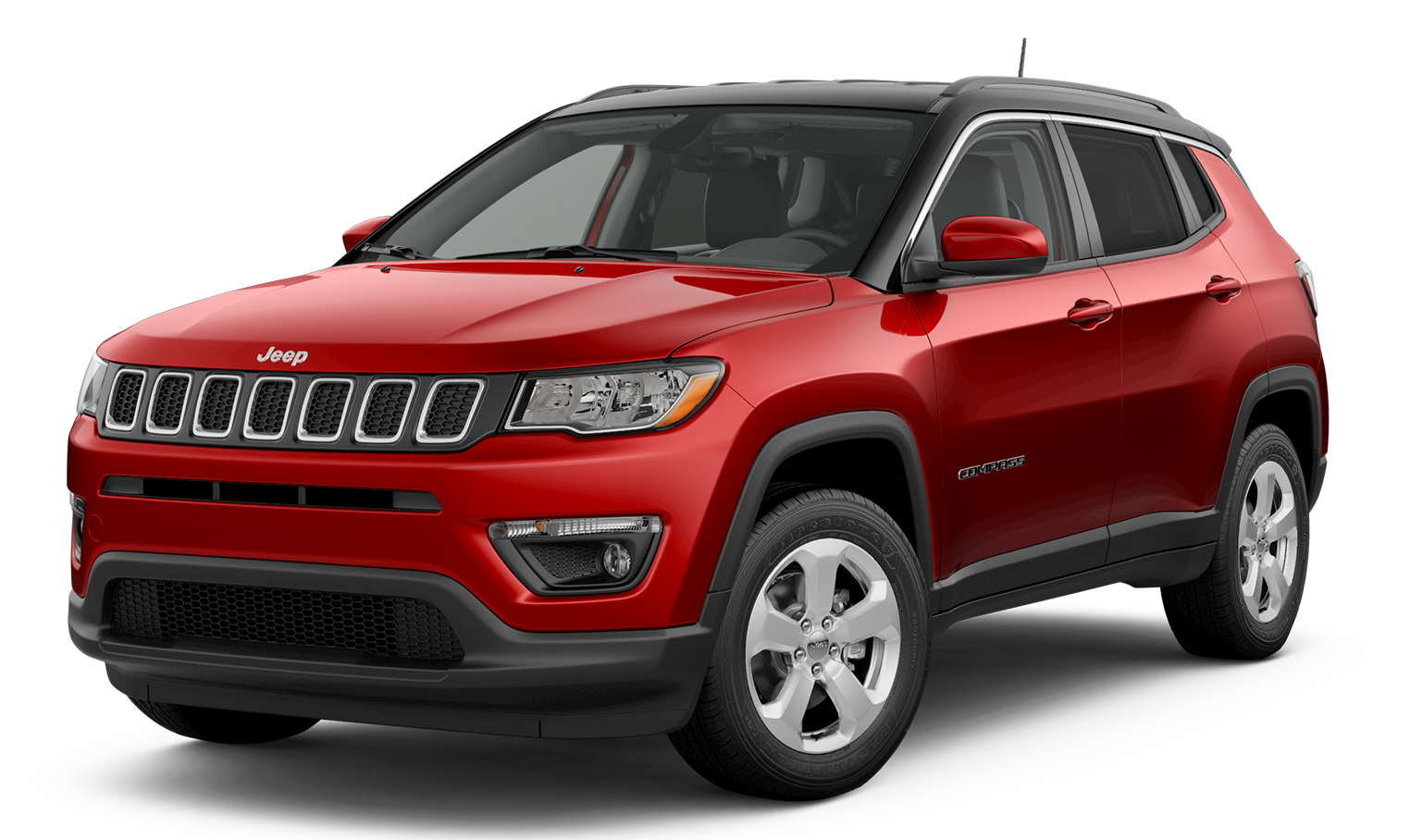 2019 Jeep Compass Latitude Red