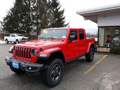 New 2020 Jeep Gladiator RUBICON 4X4 Crew Cab for sale in Rutland, VT at Brileya's Chrysler Jeep