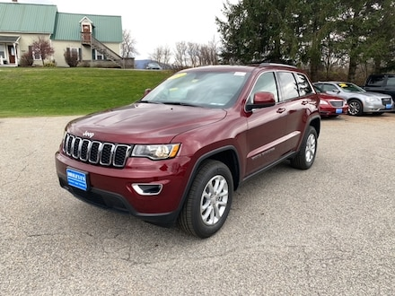 Featured New 2021 Jeep Grand Cherokee LAREDO X 4X4 Sport Utility for sale in Rutland, VT at Brileya's Chrysler Jeep