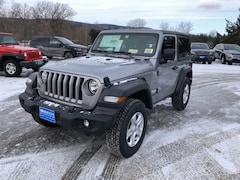 New 2019 Jeep Wrangler SPORT S 4X4 Sport Utility 1C4GJXAN9KW545225 for sale in Rutland, VT at Brileya's Chrysler Jeep