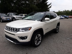 New 2019 Jeep Compass LIMITED 4X4 Sport Utility 3C4NJDCB1KT826563 for sale in Rutland, VT at Brileya's Chrysler Jeep