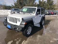New 2019 Jeep Wrangler SPORT S 4X4 Sport Utility 1C4GJXAN5KW545108 for sale in Rutland, VT at Brileya's Chrysler Jeep