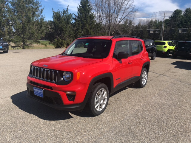 New Jeep Renegade >> New 2019 Jeep Renegade Sport 4x4 For Sale Near Stowe And Manchester