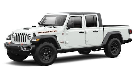 Featured New 2021 Jeep Gladiator MOJAVE 4X4 Crew Cab for sale in Rutland, VT at Brileya's Chrysler Jeep