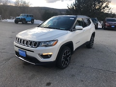 New 2018 Jeep Compass LIMITED 4X4 Sport Utility 3C4NJDCB5JT483092 for sale in Rutland, VT at Brileya's Chrysler Jeep