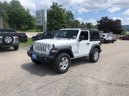 New 2019 Jeep Wrangler Sport S 4x4 For Sale Near Stowe And