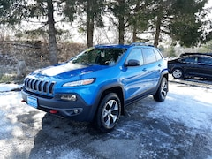 Used 2017 Jeep Cherokee Trailhawk SUV 1C4PJMBS1HW590610 for Sale in Rutland, VT at Brileya's Chrysler Jeep