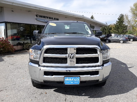 Featured Pre-Owned 2018 Ram 2500 SLT Truck Crew Cab for sale in Rutland, VT at Brileya's Chrysler Jeep