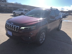 New 2019 Jeep Cherokee LATITUDE PLUS 4X4 Sport Utility 1C4PJMLX2KD368252 for sale in Rutland, VT at Brileya's Chrysler Jeep