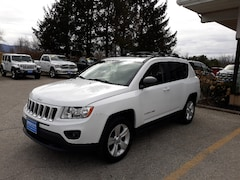 Used 2012 Jeep Compass Latitude SUV for sale in Rutland, VT at Brileya's Chrysler Jeep