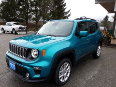 New 2020 Jeep Renegade LATITUDE 4X4 Sport Utility ZACNJBBB6LPL35336 for sale in Rutland, VT at Brileya's Chrysler Jeep