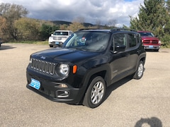 New 2018 Jeep Renegade LATITUDE 4X4 Sport Utility ZACCJBBB6JPG82253 for sale in Rutland, VT at Brileya's Chrysler Jeep