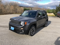 New 2018 Jeep Renegade LATITUDE 4X4 Sport Utility ZACCJBBBXJPJ10051 for sale in Rutland, VT at Brileya's Chrysler Jeep