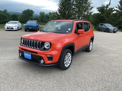 New 2020 Jeep Renegade LATITUDE 4X4 Sport Utility ZACNJBBB2LPL73257 for sale in Rutland, VT at Brileya's Chrysler Jeep