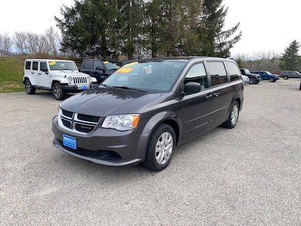 Featured Pre-Owned 2017 Dodge Grand Caravan SE Van for sale in Rutland, VT at Brileya's Chrysler Jeep