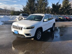 New 2019 Jeep Cherokee LATITUDE PLUS 4X4 Sport Utility 1C4PJMLX0KD368251 for sale in Rutland, VT at Brileya's Chrysler Jeep