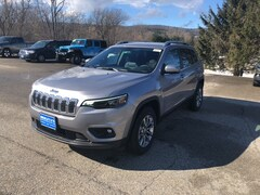 New 2019 Jeep Cherokee LATITUDE PLUS 4X4 Sport Utility 1C4PJMLNXKD368269 for sale in Rutland, VT at Brileya's Chrysler Jeep