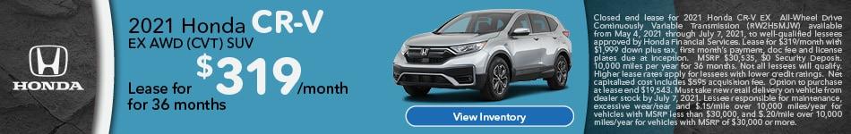 2021 Honda CR-V EX AWD (CVT) SUV