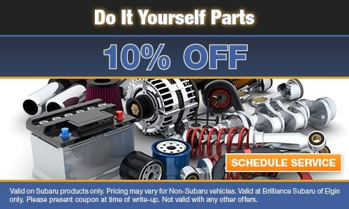 10% OFF Do It Yourself Parts