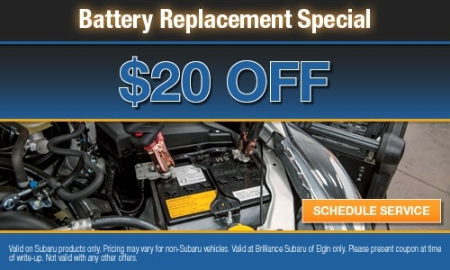 $20 OFF Battery Replacement