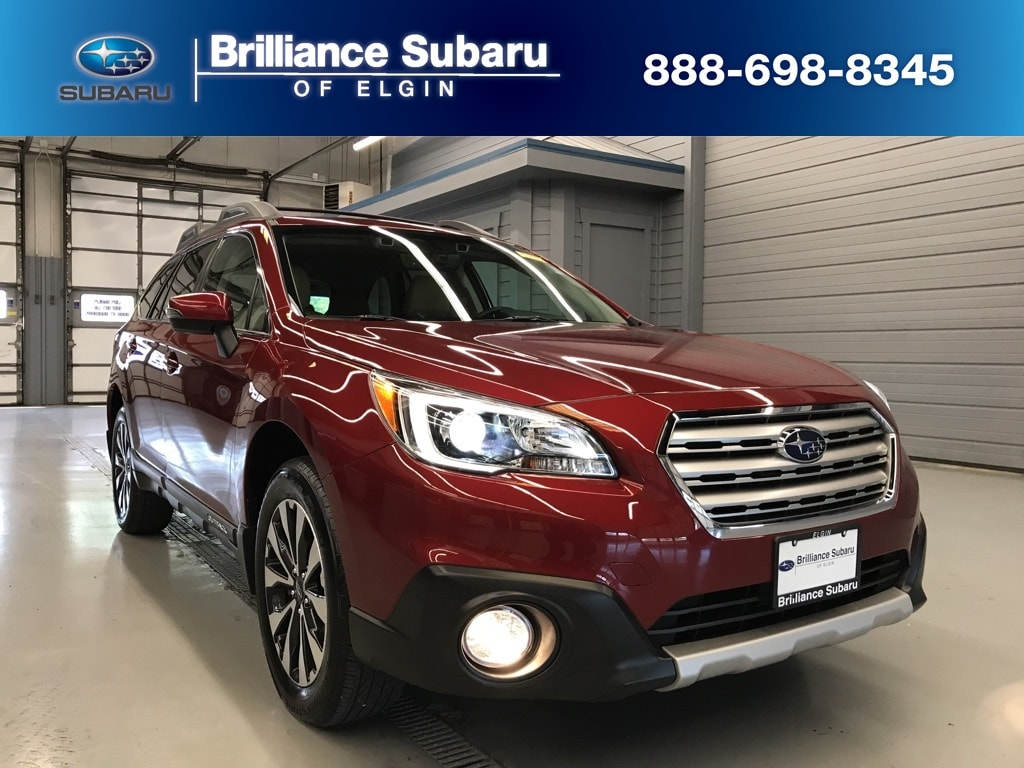 Certified Used 2017 Subaru Outback 2 5i Limited with For Sale in Elgin IL |  4S4BSANC5H3241053