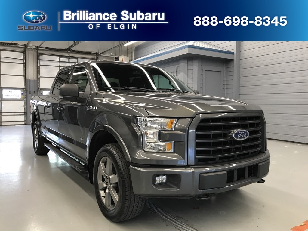 Used 2015 Ford F-150 Truck SuperCrew Cab Elgin IL