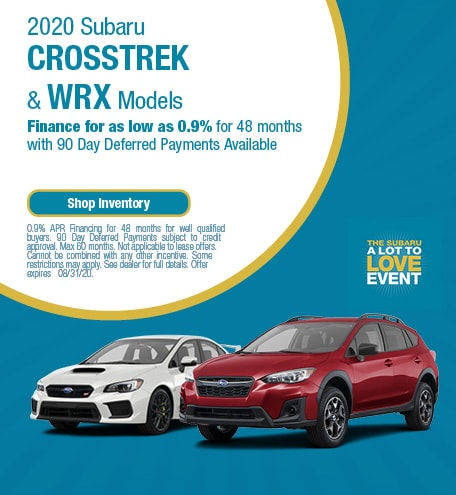 New 2020 Subaru Crosstrek & WRX