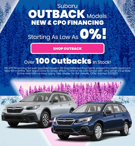 Outback - New and CPO - APR Offer