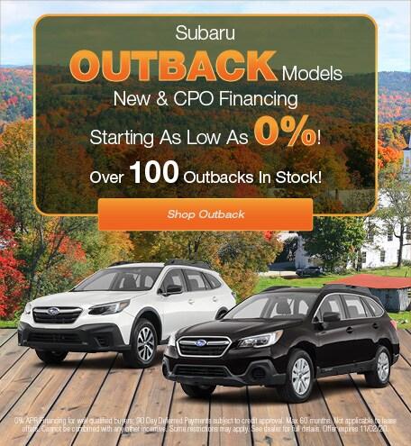 Subaru Outback Models