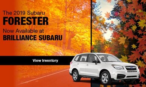 2019 Subaru Forester Arrival