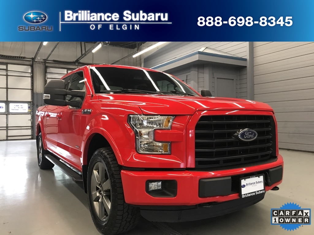 Used 2016 Ford F-150 Truck SuperCrew Cab Elgin IL